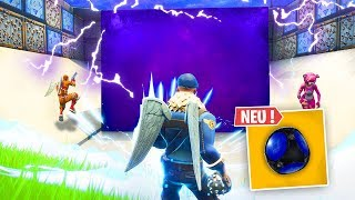 CUBE in the NEW ARENA... see what happens! Fortnite Battle Royale