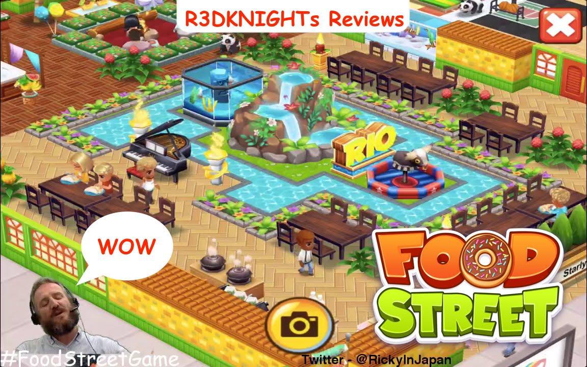 Food street restaurant review rio island design youtube