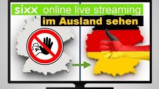 Sixx Internet-TV im Ausland sc…