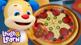 Laugh & Learn™ | Pizza Song | Cartoons and Kids Songs | Learn ABCs + 123s | Nursery Rhymes |