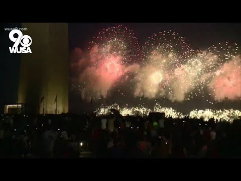 National Mall fireworks in Washington DC celebrates July 4th 2021   Watch Live