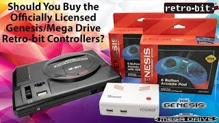 Should You Buy the Officially Licensed Sega 6 Button Controller for the Genesis & USB From Retro-bit