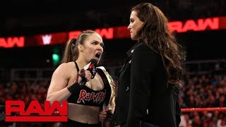 Ronda Rousey wants Becky Lynch at WrestleMania: Raw, Feb. 25, 2019