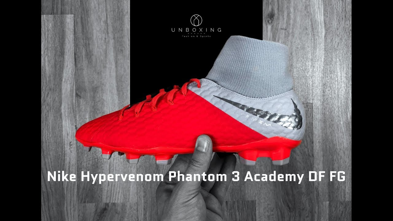 Nike Hypervenom Phantom 3 Academy DF FG  raised on concrete ... cc277ff2aa2da