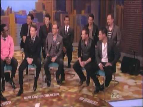 The View with New Kids on the Block, 98 Degrees & BoyzIImen 1/22/13