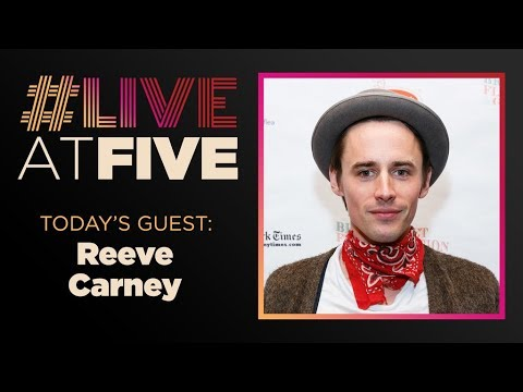 LiveAtFive with Reeve Carney