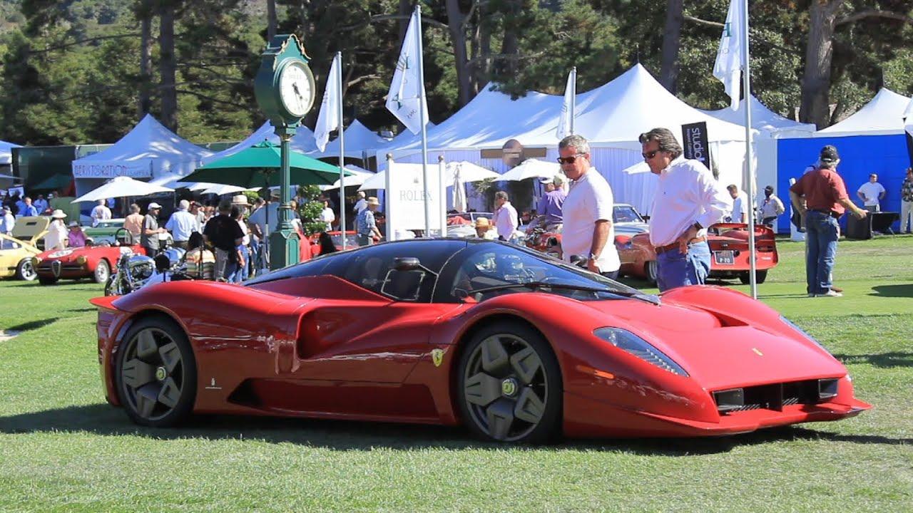 The Ferrari P45 By Pininfarina And P45 Competizione