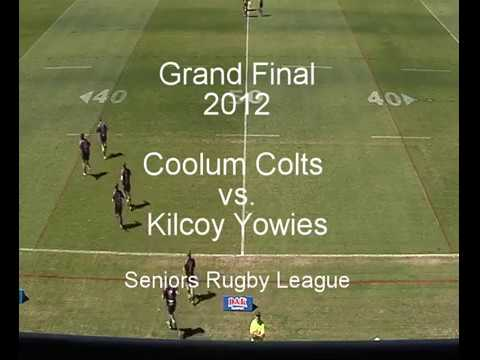 Coolum Colts vs Kilcoy Yowies - Seniors Grand Final 2012