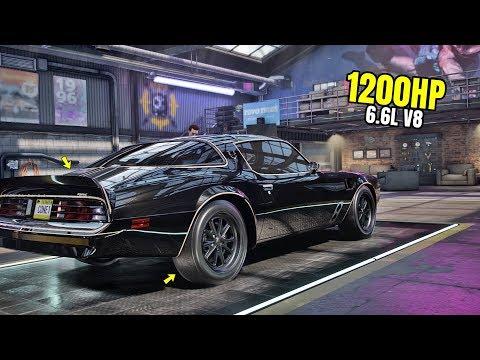Need For Speed Heat Gameplay - 1200HP PONTIAC FIREBIRD Customization | Max Build