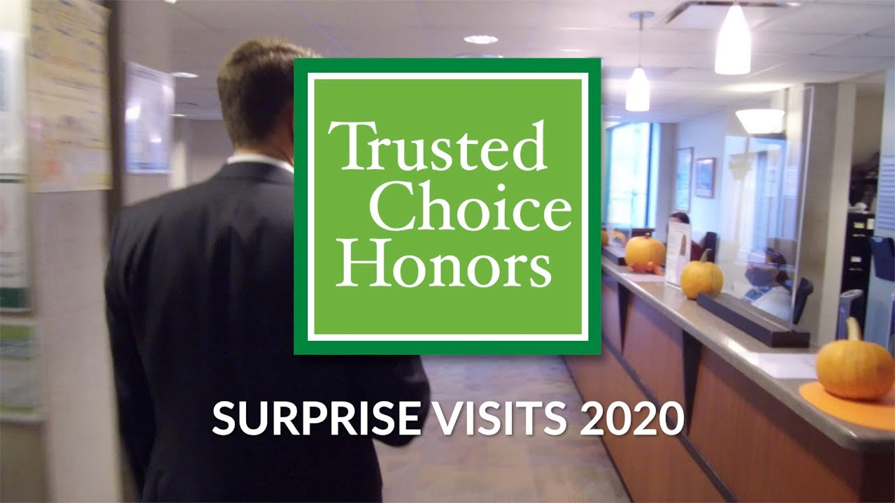 Trusted Choice Honors Surprise Visits 2020 | McFarland Clinic