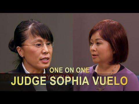 XAV PAUB XAV POM: EXCLUSIVE INTERVIEW WITH JUDGE SOPHIA VUELO SINCE HER APPOINTMENT.