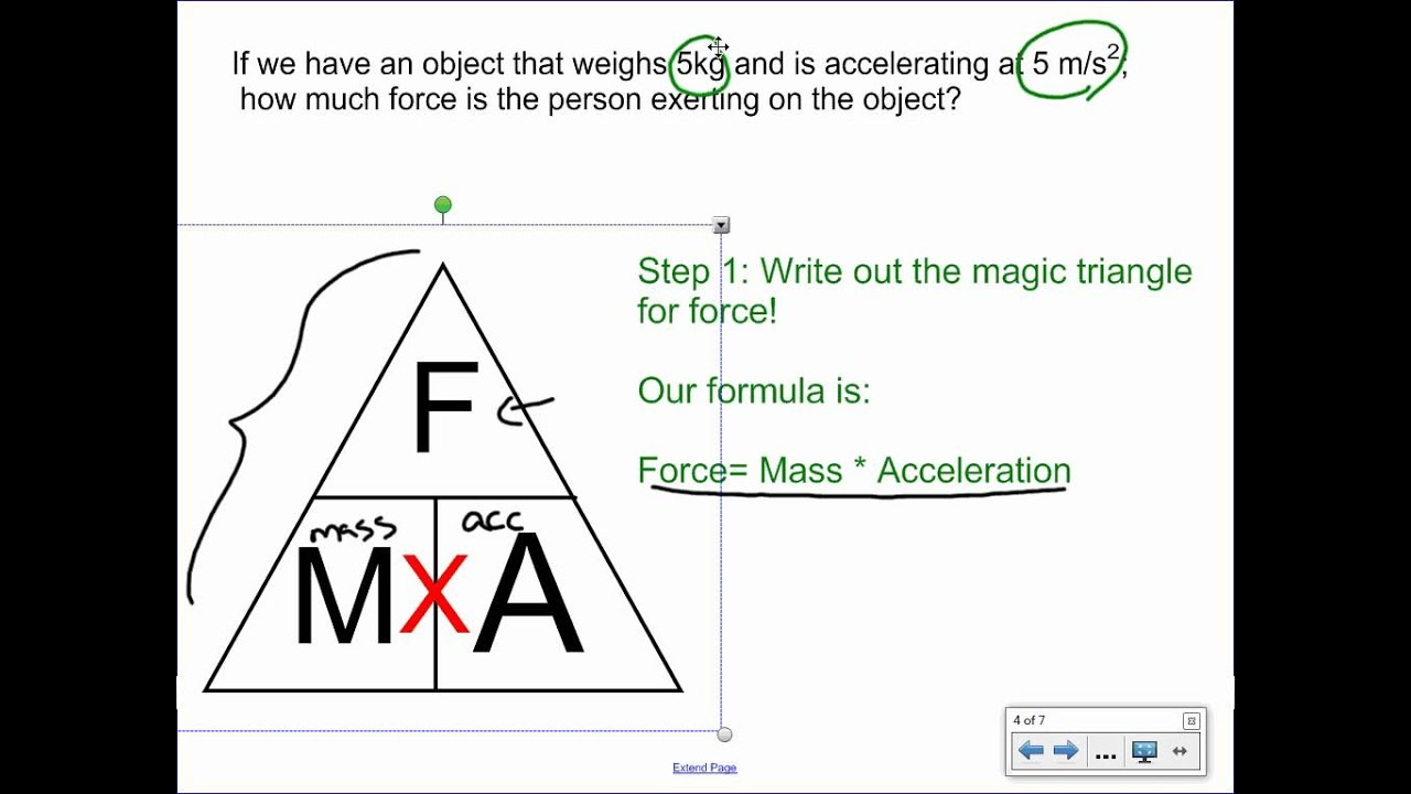 Calculating Force  YouTube