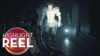 Highlight Reel #507 - Oh God, Pennywise In Resident Evil 2