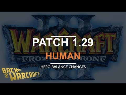Patch 1.29 live: Human Balance Changes