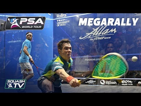 """""""THAT LADY CAN""""T BELIEVE IT!!!"""" - Squash Megarally - Rodriguez v Mo.ElShorbagy"""