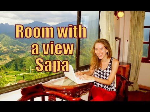 Room with a view - scenic views of mountains from our hotel room in Sapa, Vietnam Travel Video