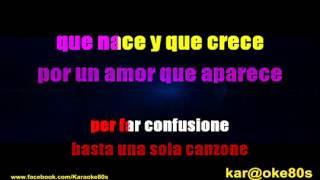 Karaoke Será Porque te Amo