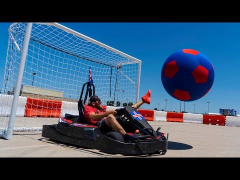 Go Kart Soccer Battle | Dude Perfect