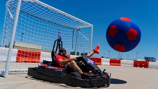 Go Kart Soccer Battle | Dude Perfect