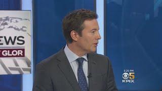 CBS Evening News Anchor Jeff Glor Visits KPIX 5