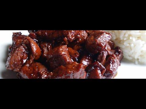 """""""Babi Ketjap Recept"""" """"Babi Kecap"""" """"Gestoofde Varkensvlees in Ketjapsaus"""" """"Vlees Recepten"""""""