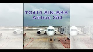 Thai airways A350 business class 泰航A350商务舱