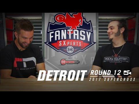 RMFantasy SXperts Round 12   2017 Supercross Detroit