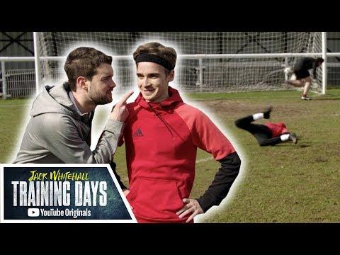 Dizzy/Blindfold/Backheel Penalty Challenge with Joe Sugg!! | Jack Whitehall: Training Days