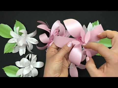 Lily flower tutorial