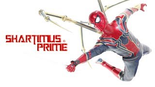 Hot Toys Iron Spider Avengers Infinity War Movie 1:6 Scale Spider-Man Action Figure Review