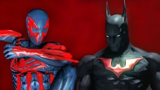 BATMAN BEYOND vs SPIDER-MAN 2099 - Super Power Beat Down (Episode 21)
