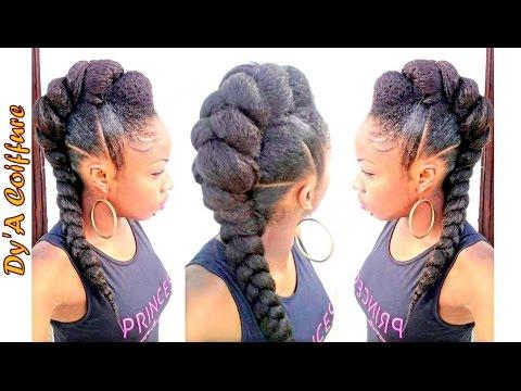 diy-★-mohawk-/-faux-hawk-style-with-a-jumbo-braid---by-dy'a