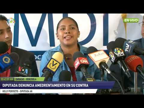 Venezuela - Dip. Kelly Perfecto denunció amedrentamiento del régimen en su contra - VPItv
