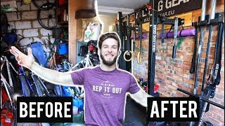 WORLDS GREATEST GARAGE GYM TOUR (Before and After)