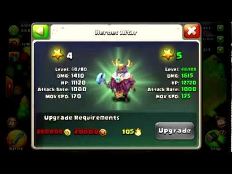 Castle Clash - Spending Gems And HB