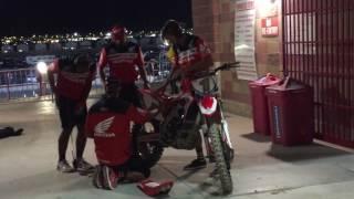 See why Ken Roczen didn't try to start his bike after MEC crash!
