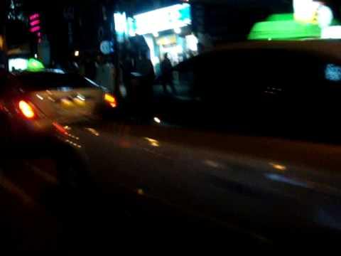 Bike crash in Busan