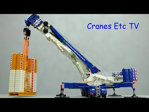 NZG Liebherr LTM 11200-9.1 Mobile Crane 'Makro' by Cranes Etc TV