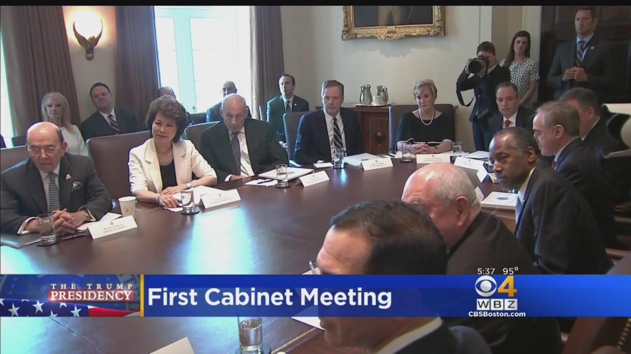 Keller @ Large: Trump's First Cabinet Meeting - YouTube