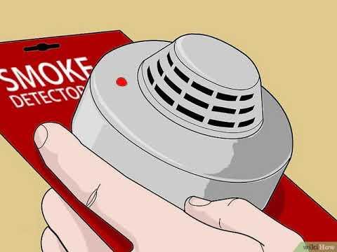 Cómo desactivar una alarma contra incendios thumbnail