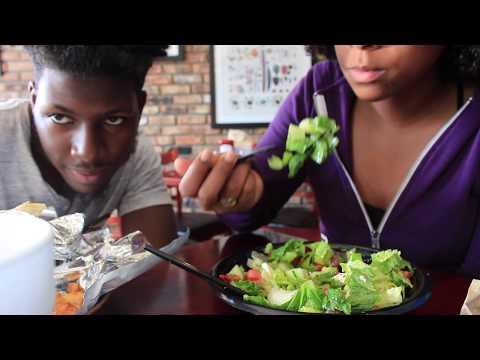 Vlog 1 - Jerk Shrimp & Greek Salad