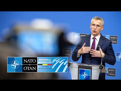 NATO Secretary General press conference previewing the #NATOSummit, 11 JUN 2021