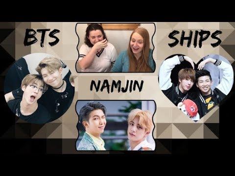 BTS Ships Reaction! - NamJin (#5 of 21)