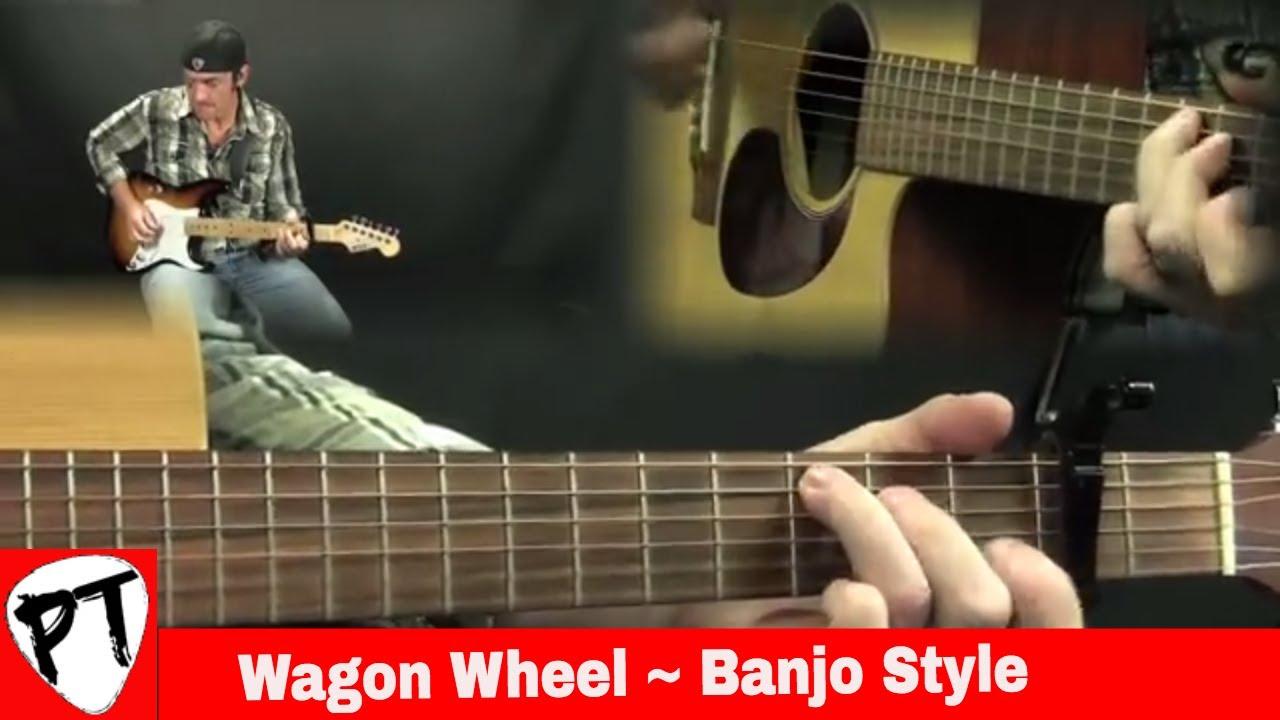 how to play wagon wheel guitar lesson guitjo banjitar youtube. Black Bedroom Furniture Sets. Home Design Ideas