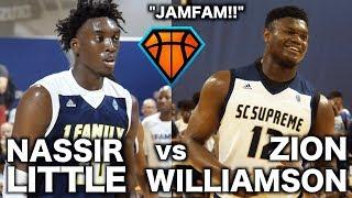 JamFam's Zion Williamson & Nassir Littl...