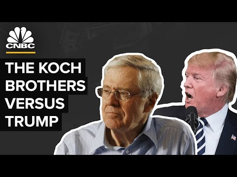Why Trump And The Koch Brothers Are At Odds