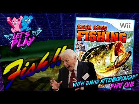 SEGA BASS FISHING - Nintendo Wii  - Part 1 • Virtual Game Boys • Let's Play! |