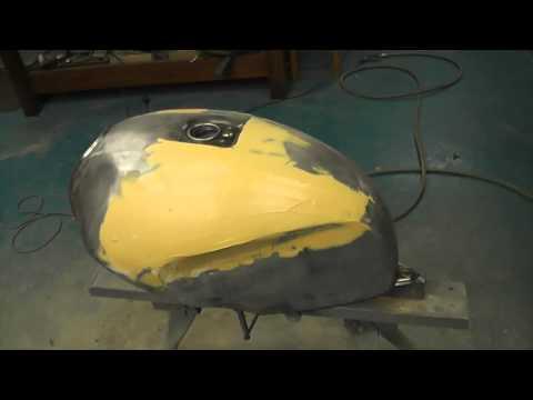 Tank repair and paint