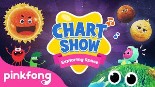 Little Space Explorers | Space Songs | Pinkfong Chart Show | Pinkfong Songs for Children