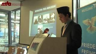 2012-01-24 Die Muslime für Frieden-Kampagne in München